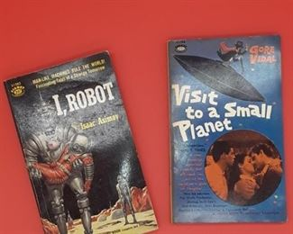 Science fiction paperbacks
