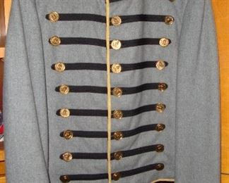 "THIS PARTICULAR UNIFORM WAS WORN IN THE MOVIE ""BLUE AND GRAY "" WHICH WAS A CIVIL WAR MINISERIES IN TH 8O's. WE HAVE THE COA FROM THE WESTERN COSTUME CO. HOLLYWOOD, CA (SEE NEXT PICTURE)"