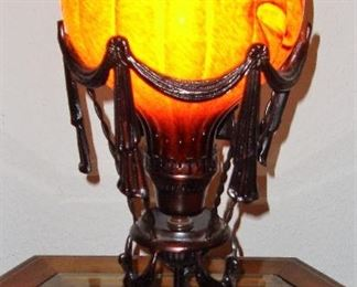 GORGEOUS BLOWN GLASS LAMP