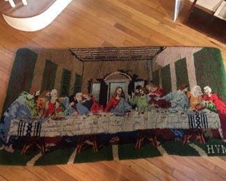 Religious Latch hook rug
