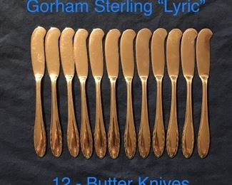 "GORHAM STERLING ""LYRIC"""