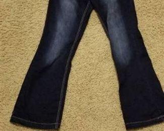 Boot Cut Embellished Denim Jeans Size 7/8