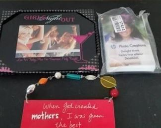 Girls Night Out Picture Frame, Mothers Plaque…