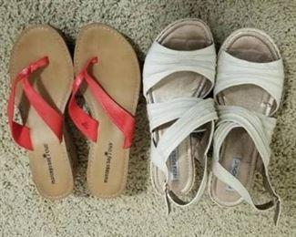 Two Pr Sandals Sz 9.5 - 10M