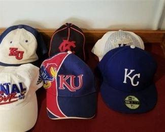 Misc KC / KU Ball Caps