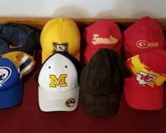 Misc Chiefs / MU/ Beer Ball Caps