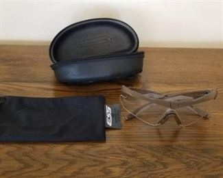 ESS Safety Glasses with Zippered Case