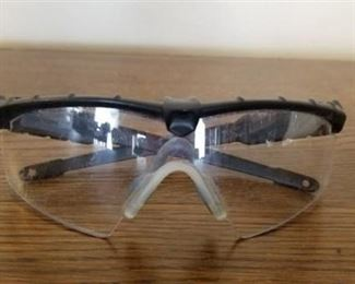 Safety Glasses with Zippered Case - Oakley?