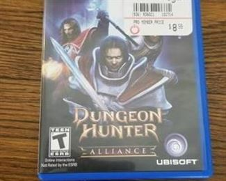 Playstation Vita Dungeon Hunter Alliance Game Rated T