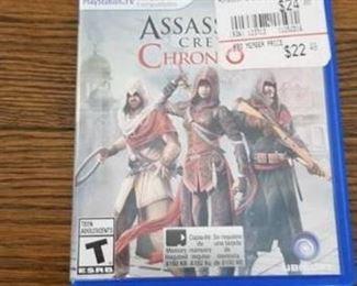 Playstation Vita Assassins Creed Chronicles Rated T