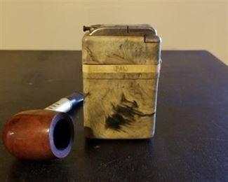 Medico Ventilator Pipe and MOP Cigarette Case