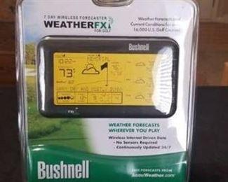 Bushnell WeatherFX for Golf
