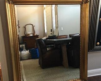Much smaller beveled mirror