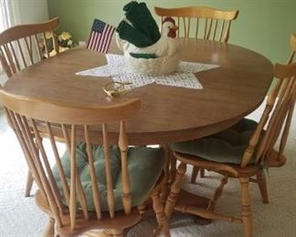 6 chair dinette