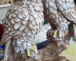 Limoges Owl Figures