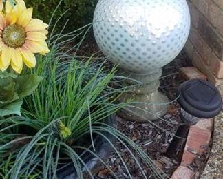 Golf ball Gazing Ball.