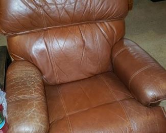 Second Leather Recliner