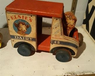 Elise The Cow Dairy toy