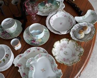 French & German fine china