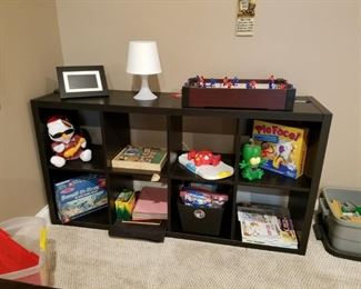 games and cube cabinet