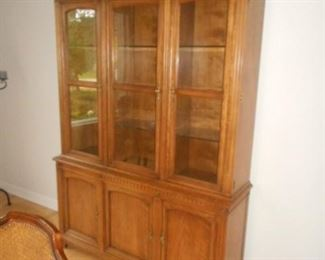 Display cabinet.