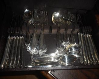 Reed & Barton silver set.  Service for 12