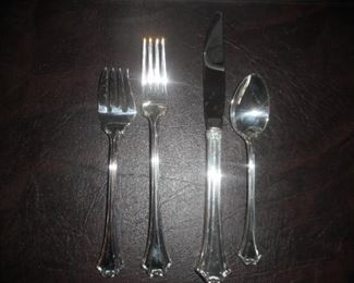 R & B,   four piece place setting