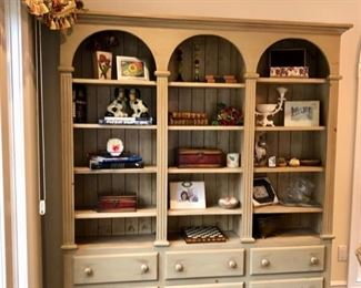 French Country wall unit