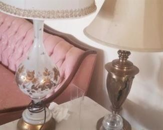 lamps throughout the home. All vintage