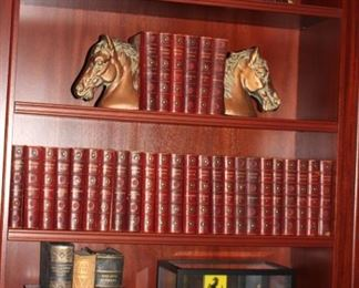 Books, Bookends,  and Model Car