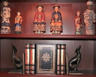 Books, Bookends and Small Statuary - Emperors
