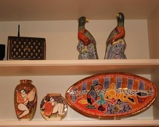 Colorful Decorative Items throughout!