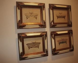 Prints -Bath Tubs