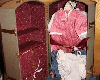 Doll Clothes and Storage