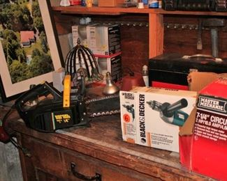 Tools - Saws and Drill