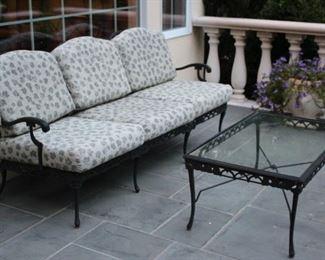 Patio Furniture – Sofa & Coffee Table