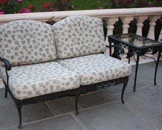 Patio Furniture – Sofa & Side Table