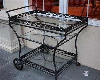 Patio Furniture – Serving Cart