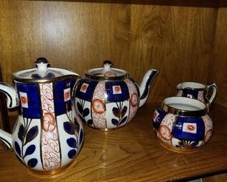Gaudy Welsh, Tea/Coffee set