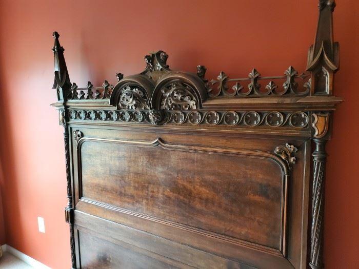 Beautiful Antique Bed  C.1860