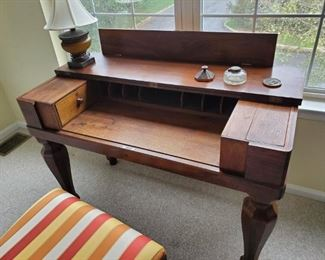 Antique Desk with hidden compartment.
