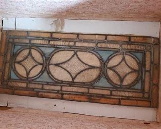 Old Leaded Glass window