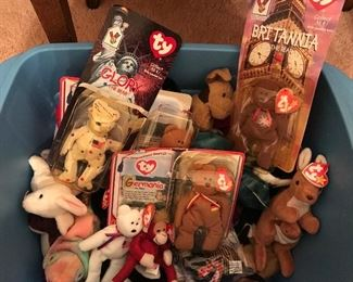 Collection of Beanie Babies & Breakfast Babies