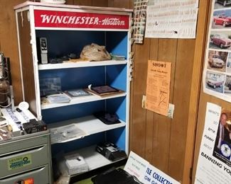 Winchester Western Metal Store Display