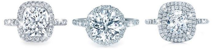 LOT 885 DIAMOND SOLITAIRES  GIA