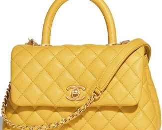 Lot 788 ChanelSpring Caviar Handbag