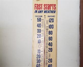 AC Delco shop thermometer