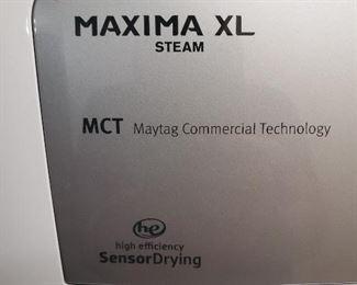 Detail of Maytag dryer