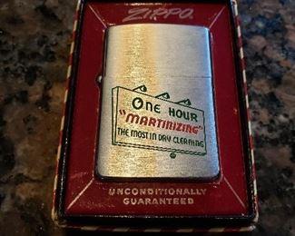 Vintage Zippo lighter, in box