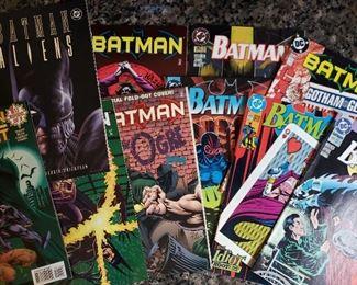Batman comics, all in #5XX range